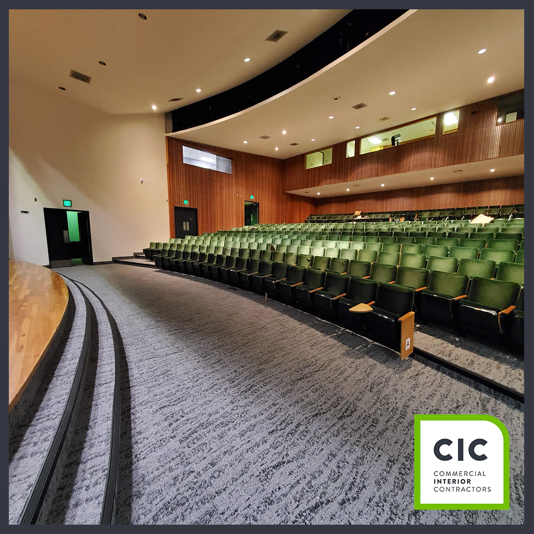 James L Knight Center updated flooring by CIC