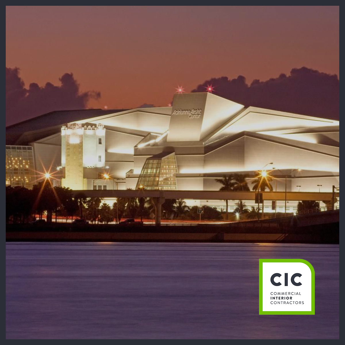 adrienne arsht center in miami by CIC